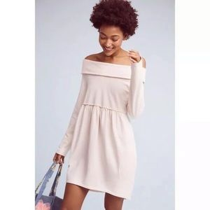 Anthro Saturday Sunday Off Shoulder Cocoon Dress